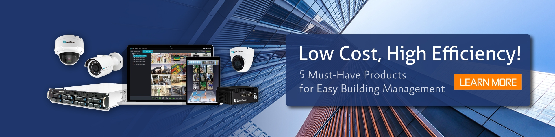 Low Cost, High Efficiency! 5 Must-Have Products for Easy Building Management​